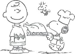 free printable coloring pages thanksgiving charlie brown best a