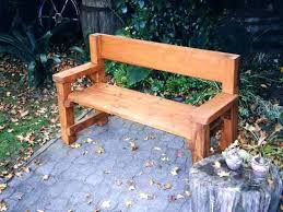 wooden patio bench page tiny garden ideas wood benches plans homemade grand used chairs for tables