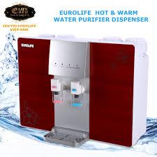 Máy lọc nước RO 5 cấp độ lọc uống trực tiếp, kết hợp máy đun nóng Euro –  Euro Life