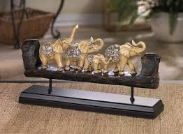 carved elephant family decor elephants los elephants etc