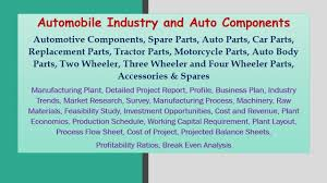 automobile industry and auto components automotive of a business  automobile industry and auto components automotive of a business plan essay
