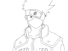 Kakashi Printable Coloring Pages Murderthestout