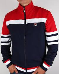 fila vintage. fila vintage vilas court track jacket navy i