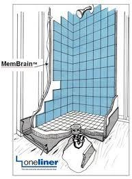 shower wall vapor barrier installation