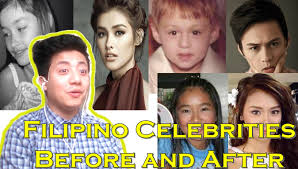 reaction to 10 famous filipino celebrities before after then now 2016 you