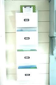 hanging folder organizer metal wall file folder organizer awesome idea metal wall file organizer with holder