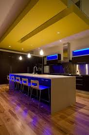 modern blue led lights in the kitchen design under table bar stools with elegant bar stools beautiful modern kitchen lighting pendants yellow