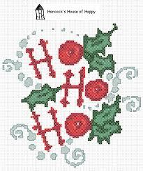 Hancocks House Of Happy Ho Ho Ho A Free Festive Cross