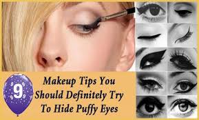 how to hide puffy eyes from crying with makeup makeup tips you should definitely try to