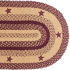 braided rug sets unbelievable picture of primitive area fresh home decor oval