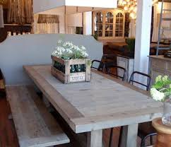 gray wood dining table. Wonderful Light Wood Dining Table Reclaimed Tables For A Natural Touch In Your Home Gray