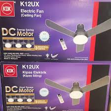 kdk k12ux 48 3 blade ceiling fan with led home appliances cooling air care on carou