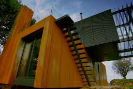 Artsy 3Storey Home Built From 31 Shipping ContainersContainer Shipping House