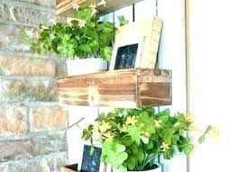garden wall planter living planters creative of vertical