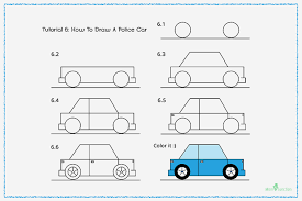 car drawing easy step by step. Wonderful Easy How To Draw A Police Car With Pictures Drawing Easy Step By A