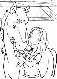 Kids N Fun Kleurplaat Holly Hobbie Hollie En Haar Paard