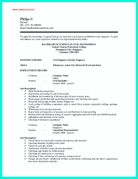 Civil Engineering Resume Examples Offer Letter Format For Civil Engineer Best Of There Are So Many 57