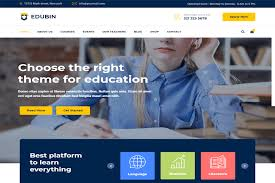 Templates For Education Responsive Free Education Website Templates Templates Hub