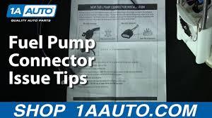 fuel pump connector issue tips 1aauto com fuel pump connector issue tips 1aauto com
