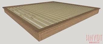 diy platform bed. View Larger Image Diy Platform Bed