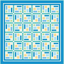 242 best Free Quilt Patterns & Projects images on Pinterest ... & SEA GLASS: FREE queen size quilt pattern Designed by KATE COLLERAN Download  at the link Adamdwight.com