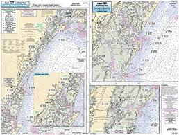 Boat Chart Chincoteague Wachapreague Quinby Va Laminated Nautical Navigation Fishing Chart By Captain Segulls Nautical Sportfishing Charts Chart Qui341