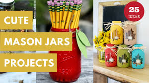 Mason Jar Crafts 25 Mason Jar Crafts That Will Get You So Excited For Fall Autumn