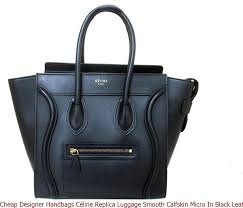 designer handbags céline replica luggage smooth calfskin micro in black leather satchel high quality prada replica handbags