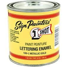 metallic paints gilding