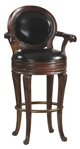 leather bar stools with arms. Bar Stools:Black Round Stool With Back And Arm Chair Stools Backs The Best Leather Arms