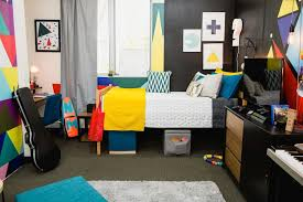 dorm living room. this video game-inspired dorm room takes campus living to the next level