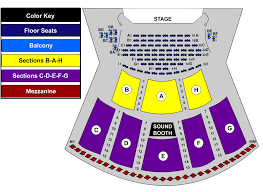 Color Purple Seating Chart Peppermill Concert Hall Seating Chart