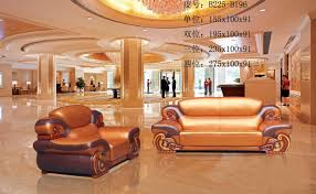 2016 2015 Neoclassical Thick High Grade Leather Sofa Furniture Set