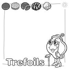 Brownie Girl Scout Coloring Pages For Brownies Printable 18001800