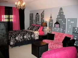 Paris Themed Bedroom Decorating Parisian Bedroom Ideas With Pink Chair And Elegant Gold Chandelier