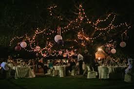 outdoor fairy lighting. Outdoor South Africa Wedding Fairy Lighting