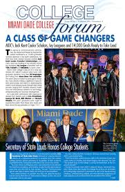 Mdc Graphic Design Classes College Forum Volume 20 Number 3 By Miami Dade Issuu