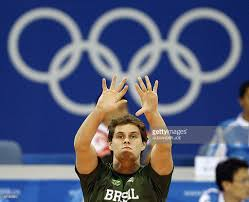 volleyball player bruno rzande of pictures getty images volleyball player bruno rzande of takes part in a training session at the capital gymnasium