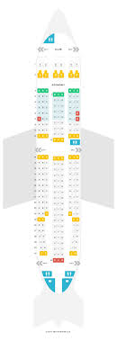 A310 300 Seating Chart Seat Map Airbus A310 300 313 Air Transat Find The Best