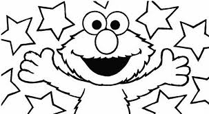 Surprising Elmo Coloring Pages 2 Print Disney Channel Coloring