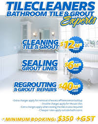 bathroom tile cleaning sealing regrouting perth