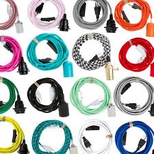 lighting cords. the best selection of pendant light cord sets on internet we specialize in plug lighting cords