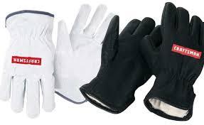 craftsman white work gloves dirty