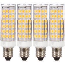 Halogen Replacement Led Lights Simba Lighting Led E11 T4 5w 50w Halogen Replacement Mini Candelabra Base Bulbs 120v Jd Jd11 4 Pack