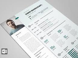 Modern Word Resume Template Free Modern Resume Template For Word Resumekraft
