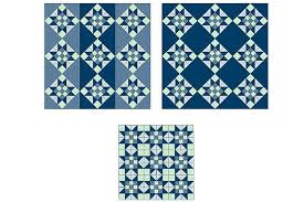 Evening Star Quilt Block Pattern With Nine-Patch Centers & Evening Star Quilt Layout Ideas Adamdwight.com