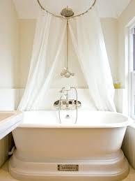 shower curtain freestanding bath on bathroom for tub x houzz curtains modern