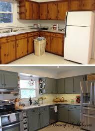 50s Kitchen Makeover Diy Kitchen In 2019 Old Kitchen Cabinets