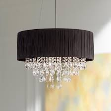 possini euro design lighting. Possini Euro Jolie Quot Wide Black Crystal Pendant Light Design Lighting