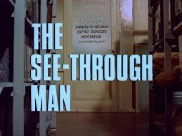 See Thru Tv The Avengers Series 5 The See Through Man